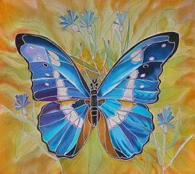 Рукодельки- Бабочка  - идеи для батика