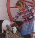 Жакет с овечками