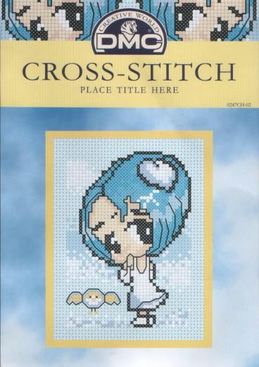 Рукодельки - вишивка крестиком Девочка волшебная