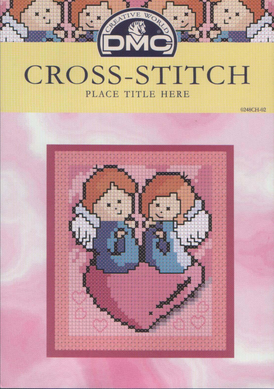 вышивание крестиком схемы ангелочков