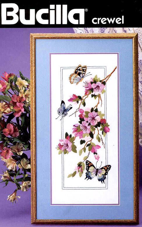 Рукодельки -бабочки и веточка