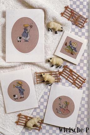 Рукодельки - пастушки - идеи вышивки крестиком