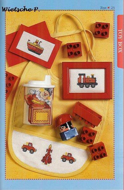 Рукодельки - машинка, паровозик, пароходик и клоун
