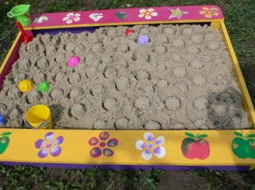 Рукодельки - Идея! песочница детская