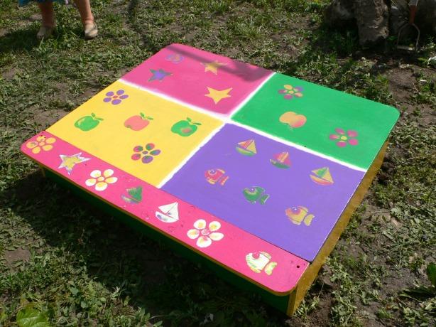 Рукодельки - детская песочница