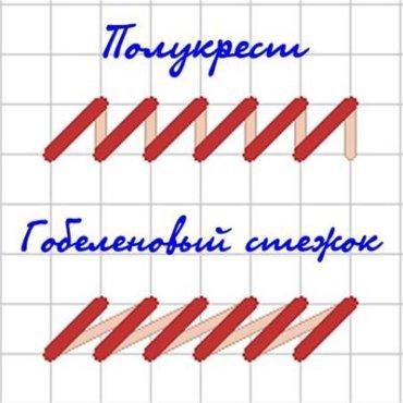 Полукрестик Рукодельки Рукоделие Вышивка