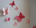 Бабочки идея для стен