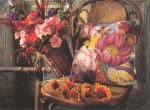 Подушка в цветах