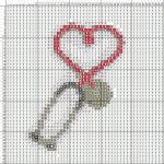 Медицина - Рукодельки Цветная схема для вышивки крестом