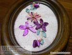 Вышивка лентами - фото-идеи Рукодельки 1762988880