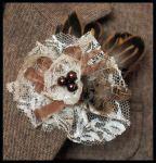 Вышивка лентами - фото-идеи Рукодельки brooh_2