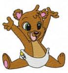 Медвежата рукоделькиbear02 - med farve