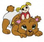 Медвежата рукоделькиBear08-med farve