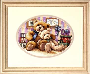 Рукодельки вышивка мишки Тедди