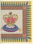 Подушка с короной Рукодельки2