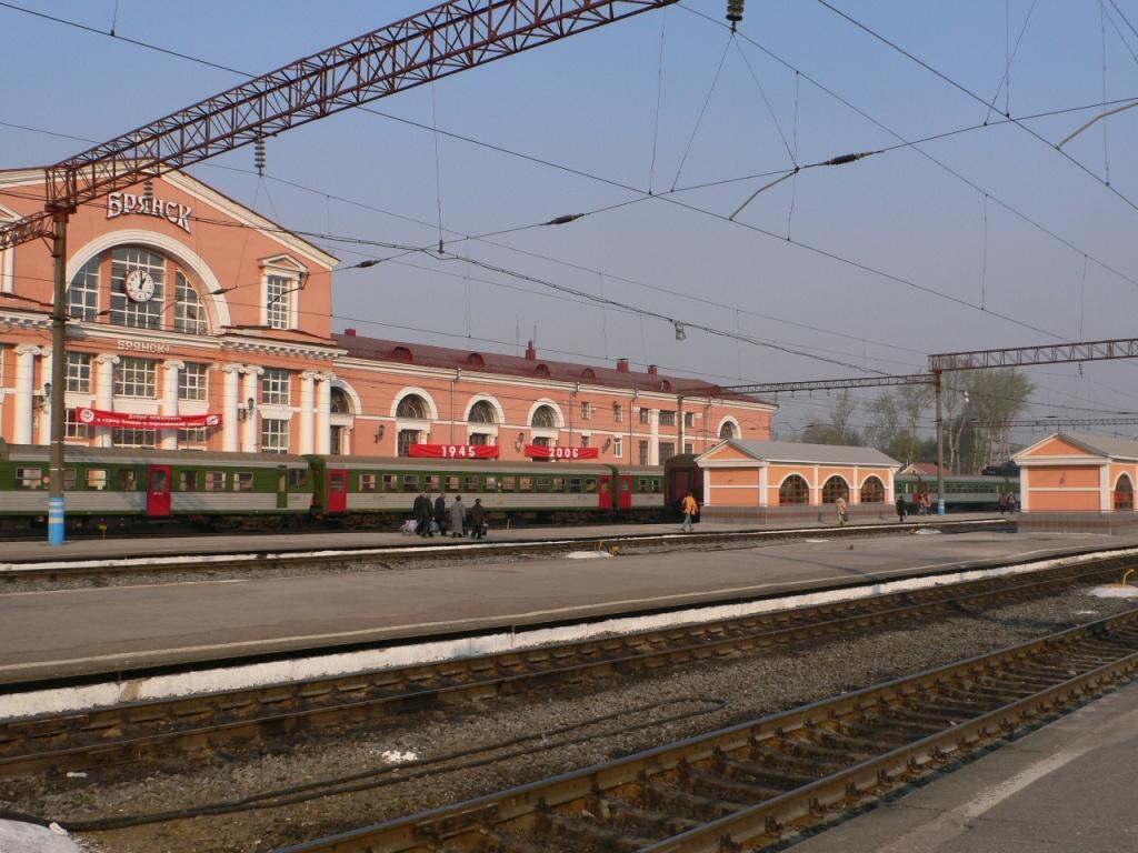 Брянский ЖД вокзал 6 -7 путь