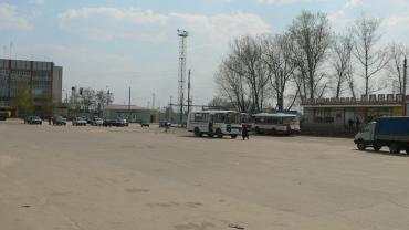 Автовокзал п. Навля