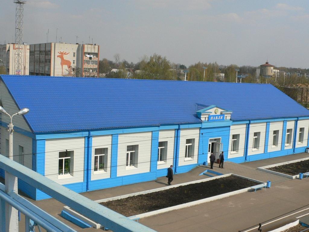 ДЖ вокзал Навля