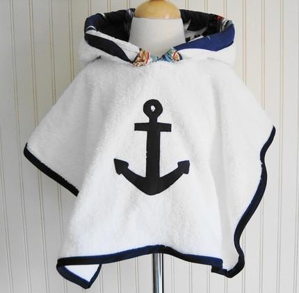 Как сшить детское полотенце-пончо Просто Мама 46