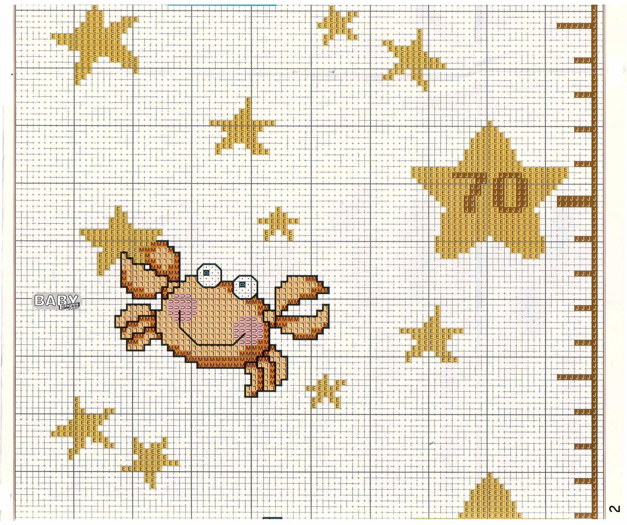 Звезды схемы вышивки 22