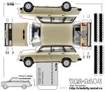 Макет авто СССР