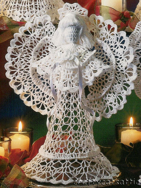 Angels crochet / Ангелочки