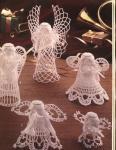 My handmade Angels crochet  2