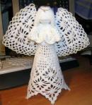 My handmade Angels crochet  aniol1