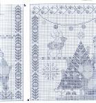My handmade Embroidery a dagger Christmas themes027