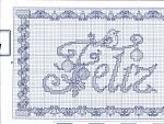 My handmade Embroidery a dagger Christmas themes045