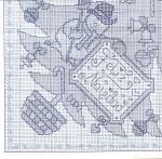 My handmade Embroidery a dagger Christmas themes063