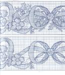 My handmade Embroidery a dagger Christmas themes127