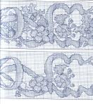 My handmade Embroidery a dagger Christmas themes128