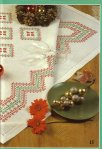 My handmade Embroidery a dagger Christmas themes142