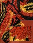 My handmade Gusev A.G. Netkannyj a gobelin, or an embroidery a loop23