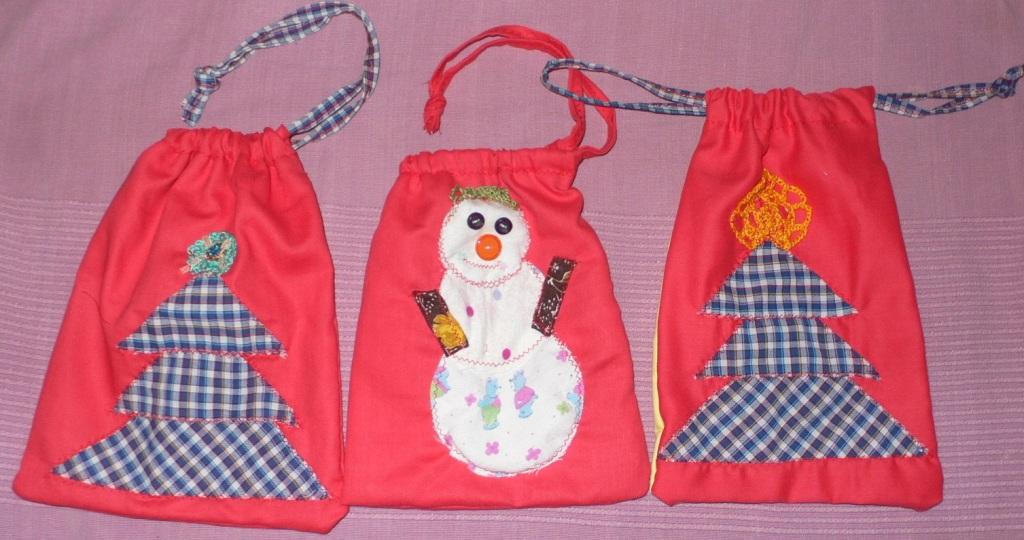 Новогодний мешок подарков своими руками