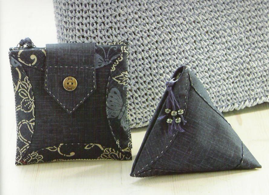 Большие изделия из лоскутков - сумки.