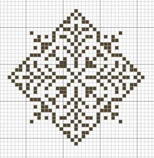 Снежинки - схемы для вышивки крестиком.  Прочитать целикомВ.