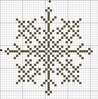 Норвежская снежинка, схема, схемы, норвежский узор,узоры.